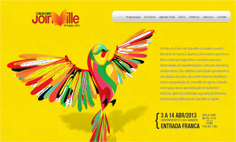 Feira do Livro de Joinville alcança 150 mil visitantes e se consolida como mais importante projeto do segmento em SC