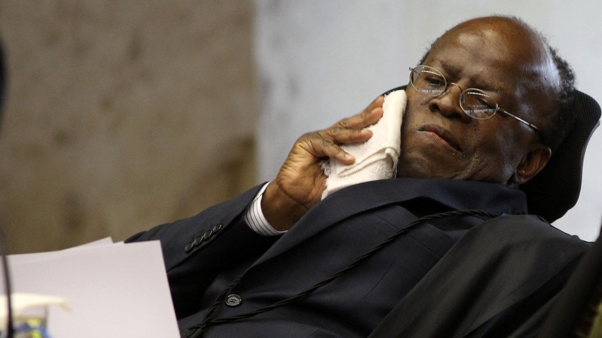 Brasil não está preparado para um presidente negro, diz Joaquim Barbosa