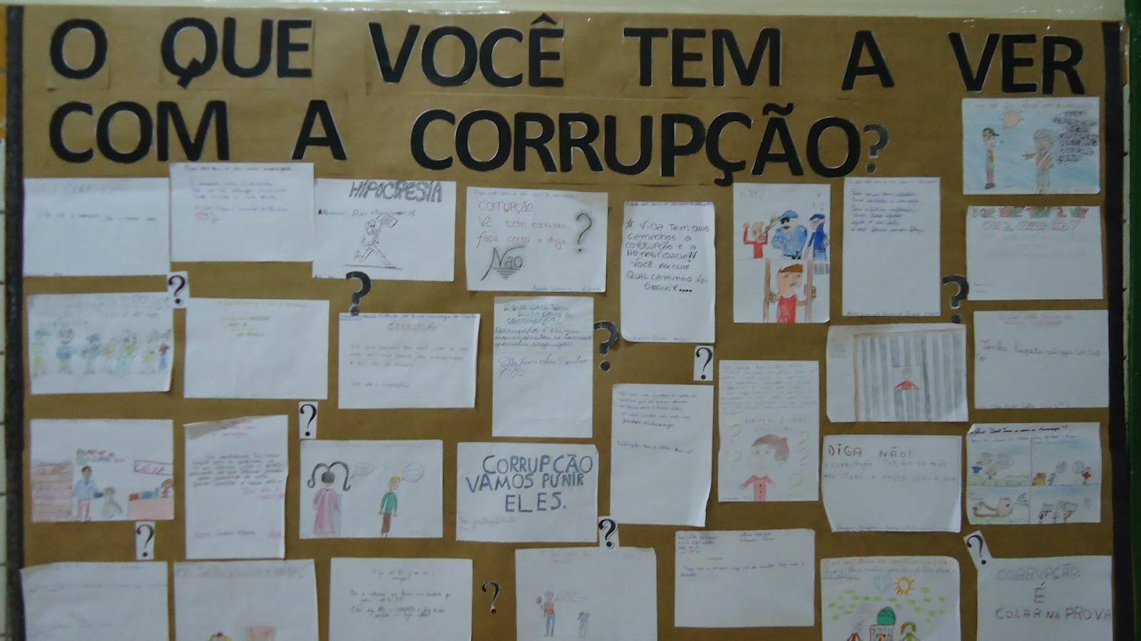 Corrupção e Professores: O que eles tem a ver com isso?