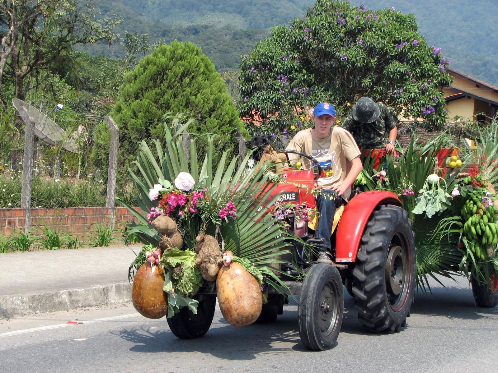 Festa da Colheita movimenta o final de semana em Pirabeiraba