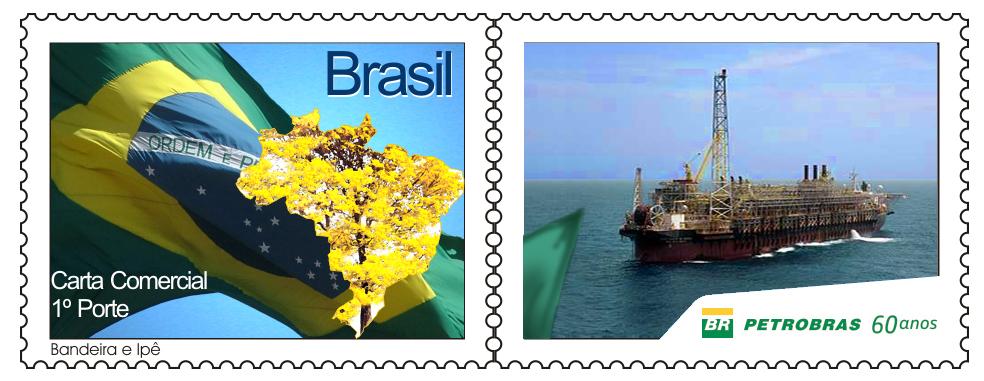 Petrobras lança selo em homenagem aos 60 anos da companhia