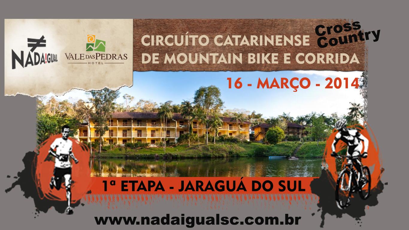 Primeira Etapa do Circuito Catarinense de Cross Country ocorrerá em Jaraguá do Sul