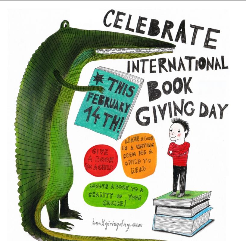 Dia internacional da doação de livros, saiba maiores informações e partilhe esta ideia