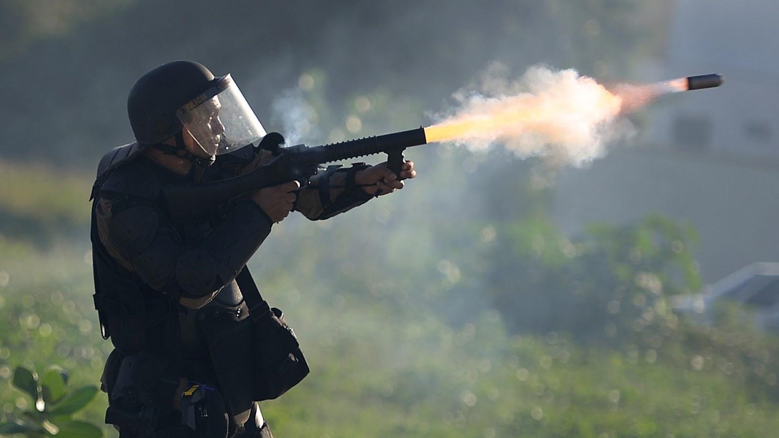 Projeto regula uso de balas de borracha por policiais