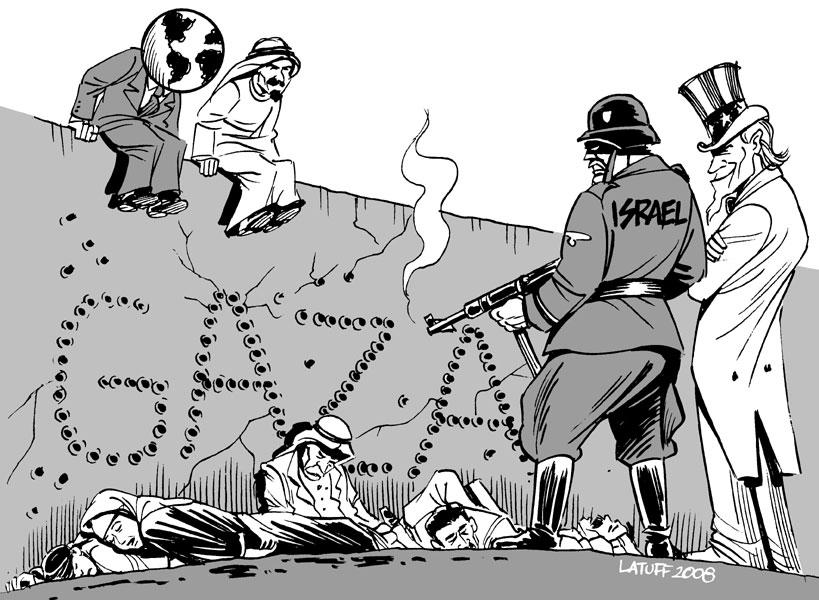 Opinião: Massacre em Gaza e o falso jornalismo