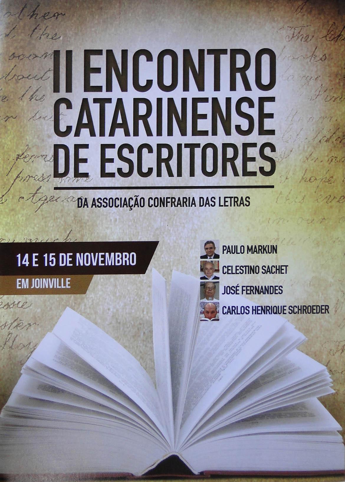 II Encontro Catarinense de Escritores: Balanço do evento revela consolidação no calendário cultural