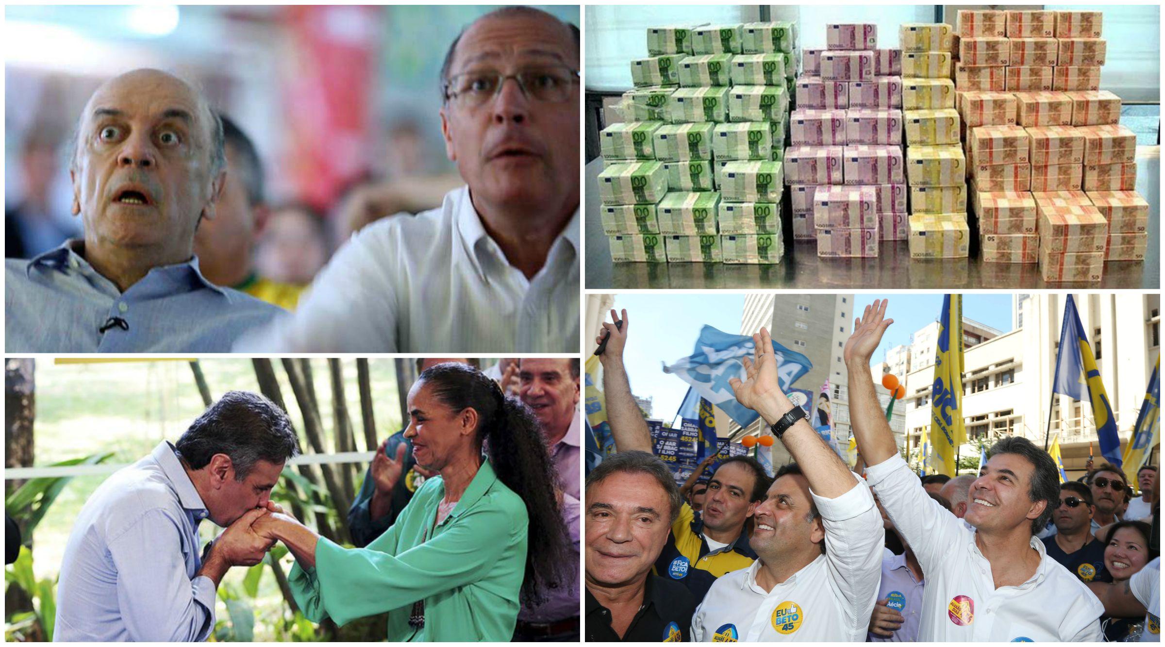 Segundo pesquisa, PSDB recebeu 42% das doações das grandes empreiteiras