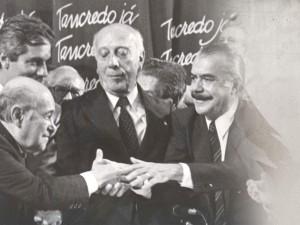 Tancredo Neves e José Sarney formaram a chapa que foi avalizada por Ulysses