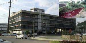 Empresa passa a responder processo por poluir o rio Cachoeira (foto Gazeta de Joinville).