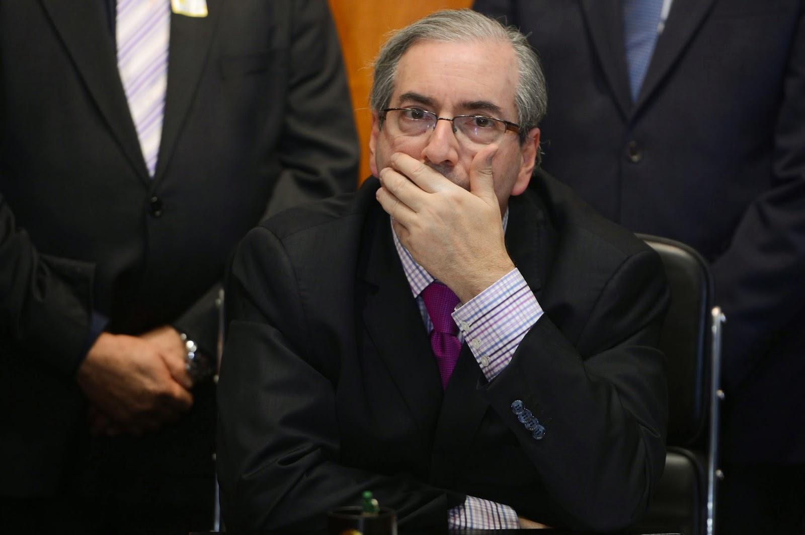 No STF, Cunha contesta suspensão da votação das contas presidenciais