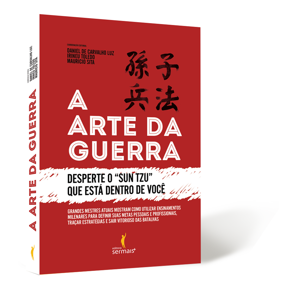 """Livro """"A arte da guerra – desperte o Sun Tzu que existe em você"""", será lançado nesta terça (17) em Joinville (SC)"""