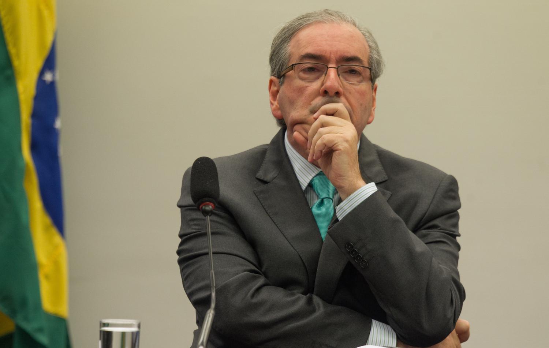 Cunha é vaiado em congresso do PMDB em Brasília (DF)