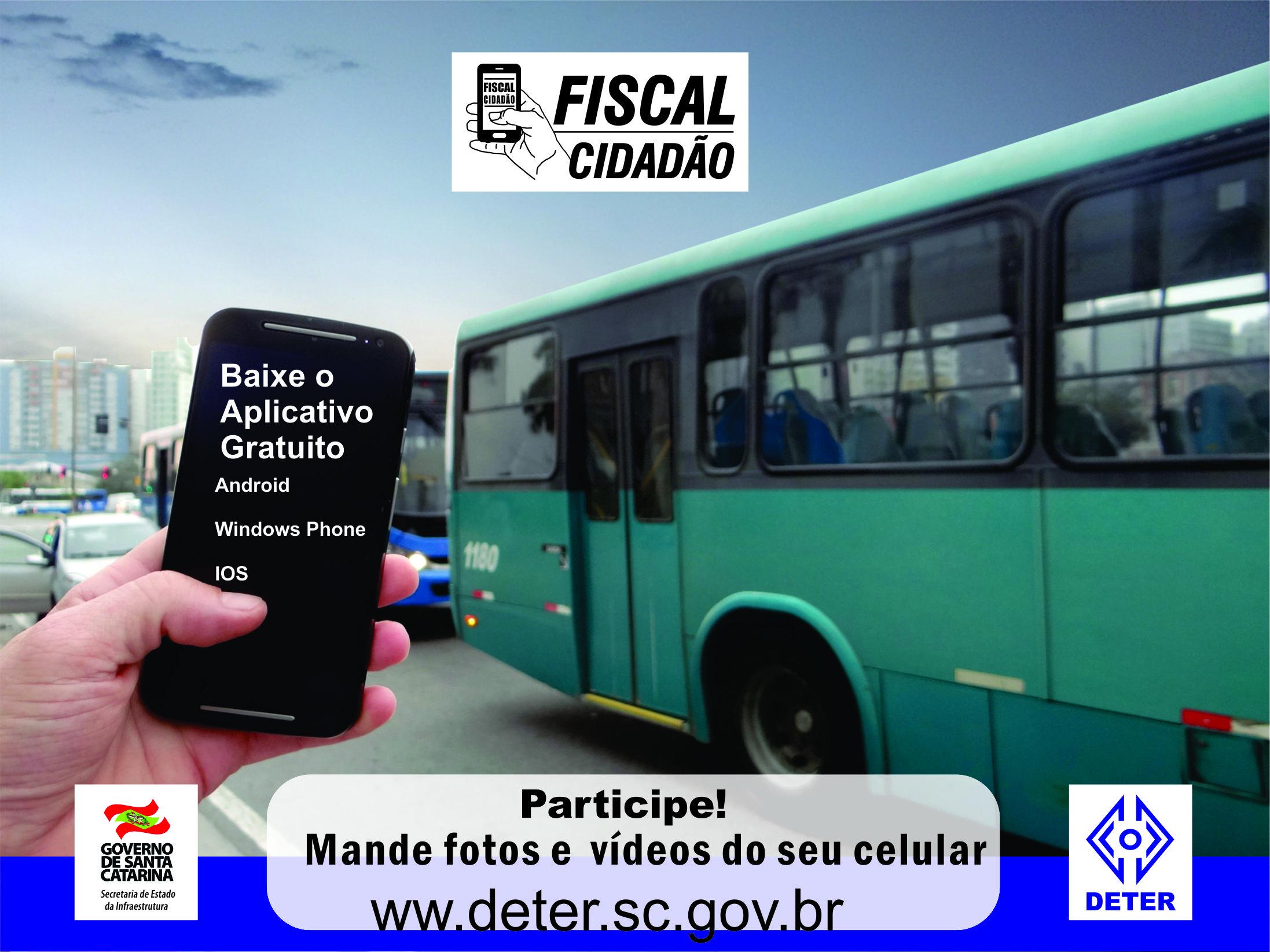 Deter lança em SC o aplicativo Fiscal Cidadão