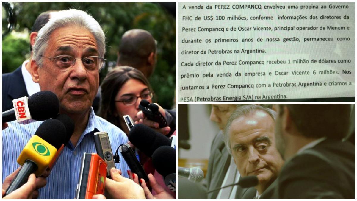Lava Jato – Cerveró coloca FHC e PSDB no centro da investigação ao declarar propina de US$ 100 mi