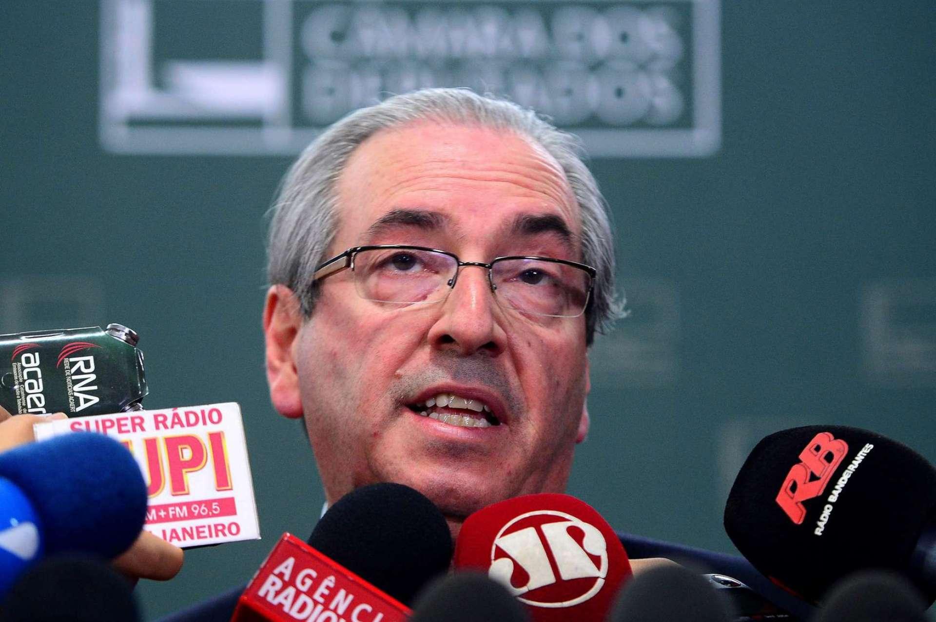 Cunha pede ao STF que suspenda processo contra ele no Conselho de Ética