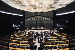 O Congresso Nacional se reúne para votar o relatório final do projeto de Lei de Diretrizes Orçamentárias (LDO) para 2012. Geral do plenário.