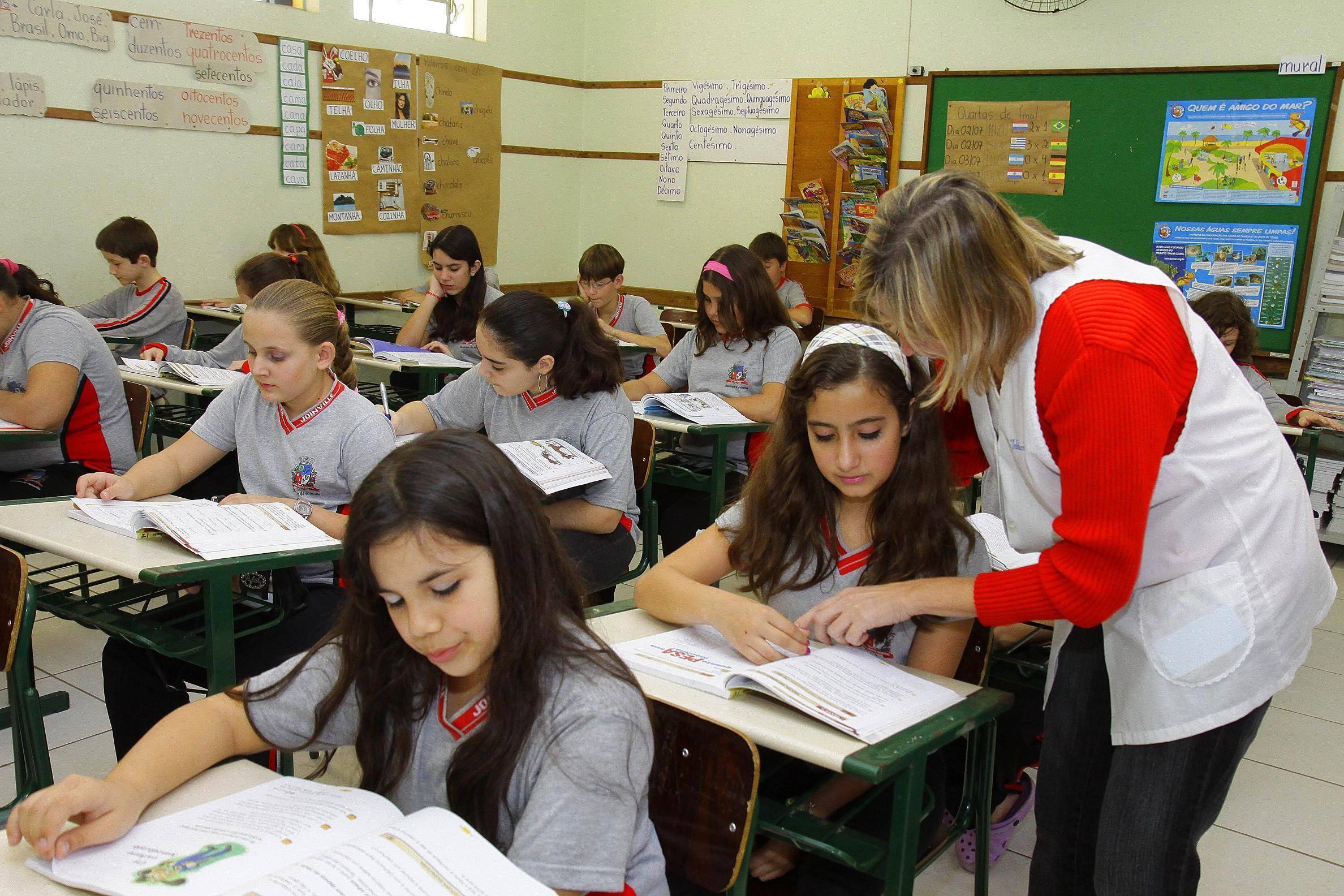 Aulas na rede municipal de Joinville (SC) iniciam na quarta-feira (10)