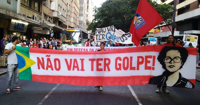Crise Política – Movimentos Sociais, populares e sindicais se mobilizam contra o que consideram golpe