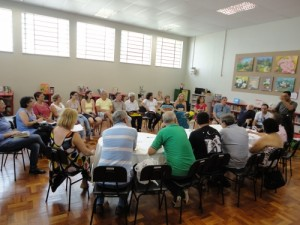 Confraria iniciou atividades na Biblioteca Pública e hoje faz encontros itinerantes