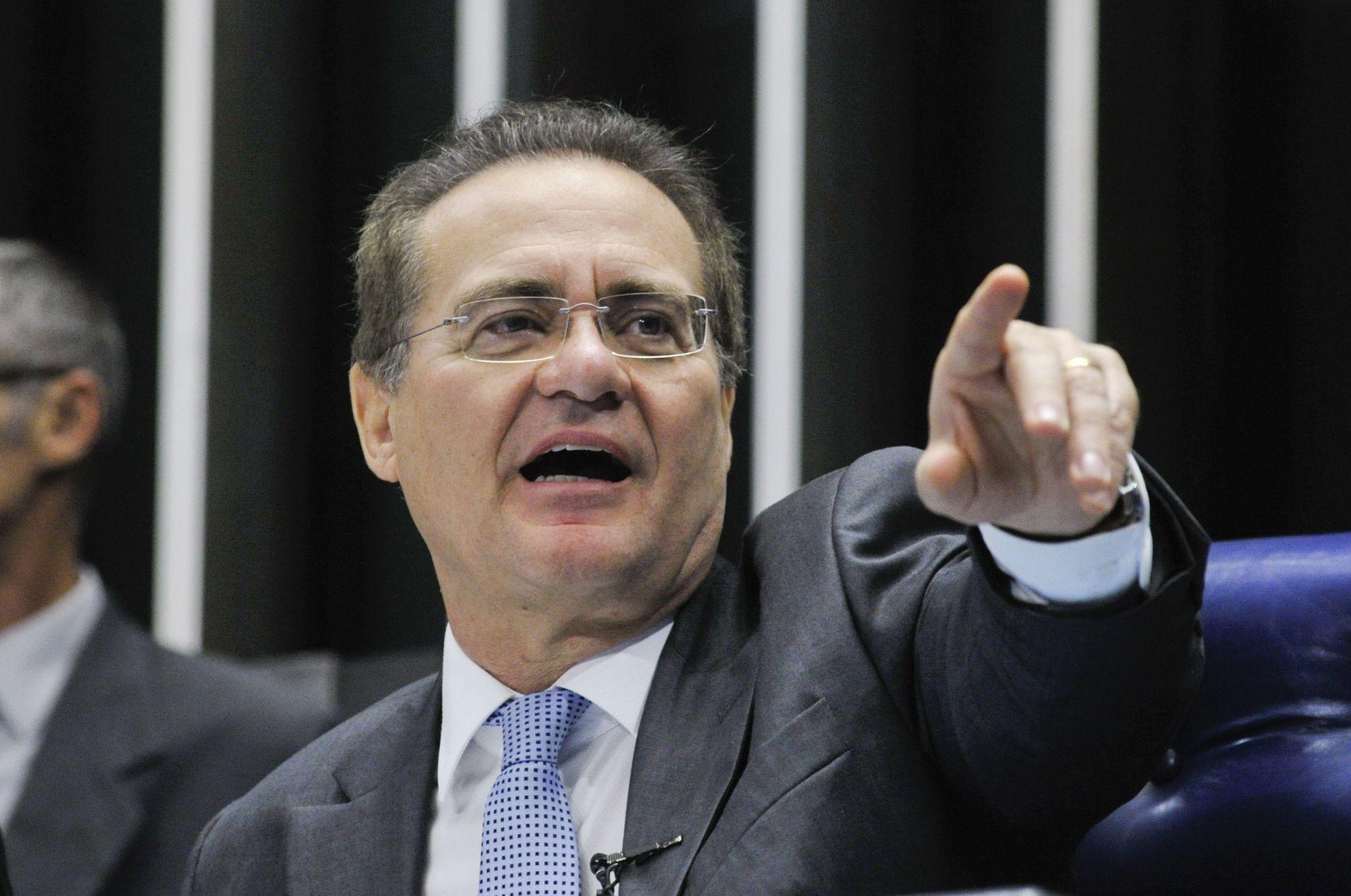 Senado deve instalar comissão do impeachment só na próxima semana, diz Renan