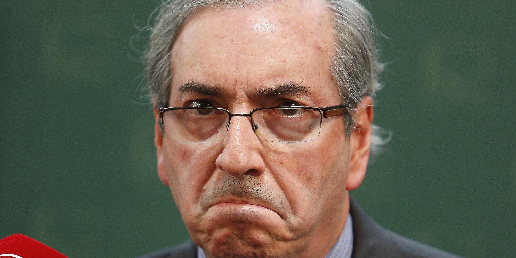 """Cunha """"estranha"""" decisão do STF, fala em retaliação e diz que vai recorrer"""