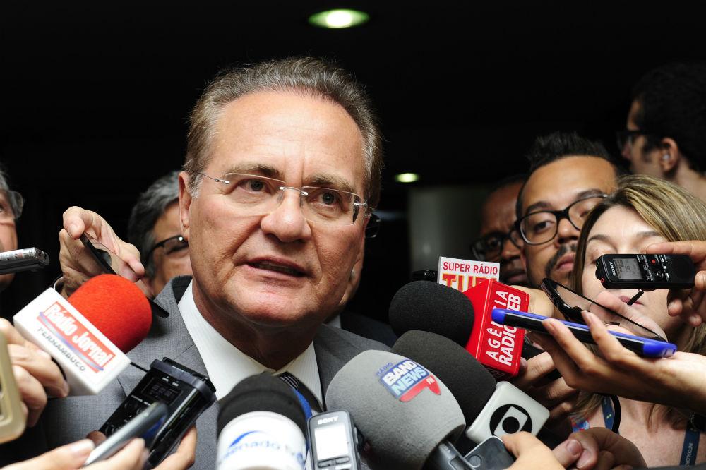 No Senado, Renan anuncia que impeachment deve ser votado nesta quarta-feira (11/5)