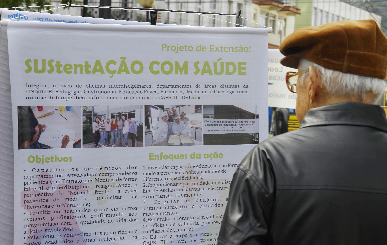 Luta Antimanicomial – Joinville (SC) realiza a Semana de Conscientização e Orientação sobre Saúde Mental