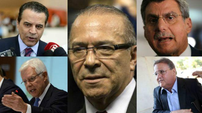 Todos os homens (e nenhuma mulher) do presidente interino Michel Temer (PMDB)