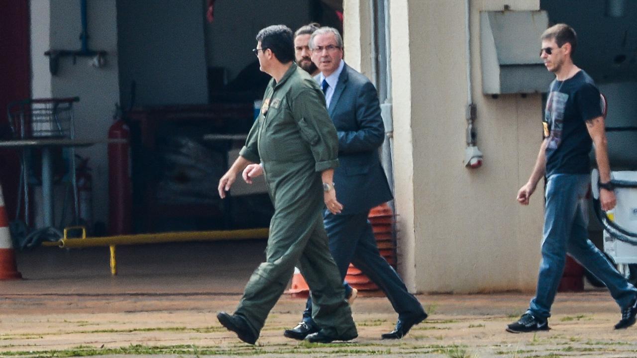 """Eduardo Cunha (PMDB) diz que sua prisão é """"absurda"""""""