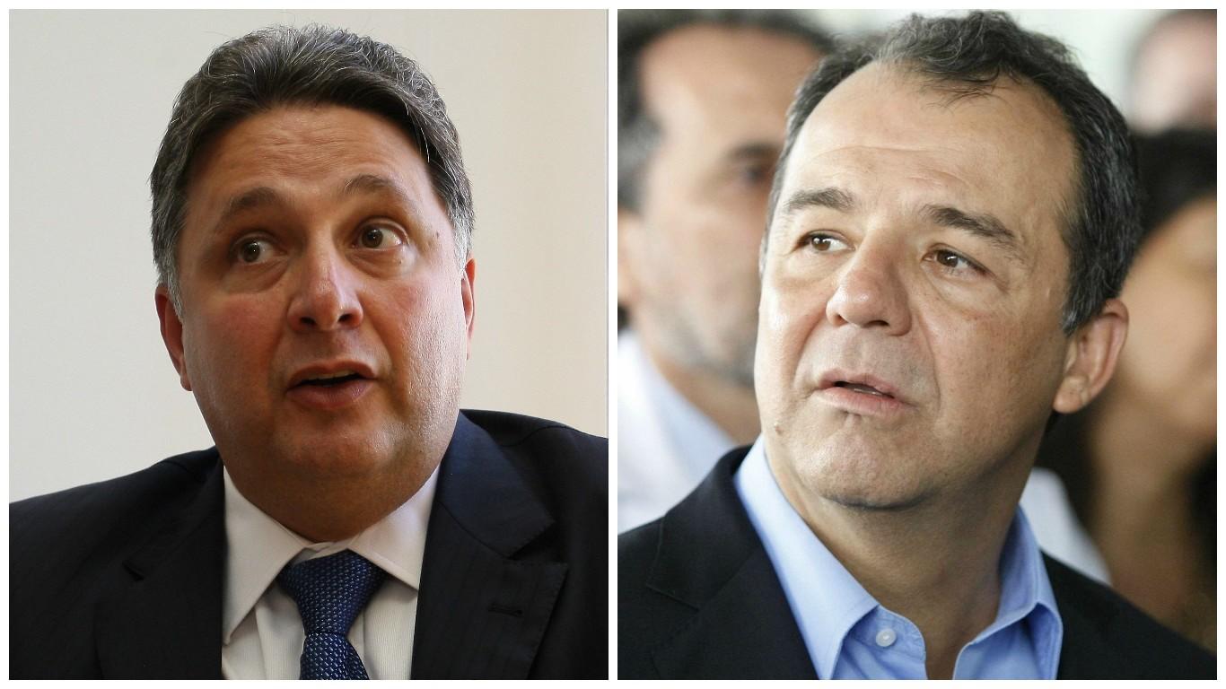 Ontem Garotinho, hoje Sérgio Cabral foi preso pela PF, ambos ex-governadores do RJ