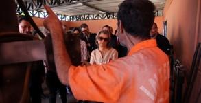 05/11/2016- Brasília- DF, Brasil- A presidente do STF (Supremo Tribunal Federal), ministra Cármen Lúcia, faz visita surpresa ao presídio da Papuda. Foto: Gláucio Dettmar / CNJ