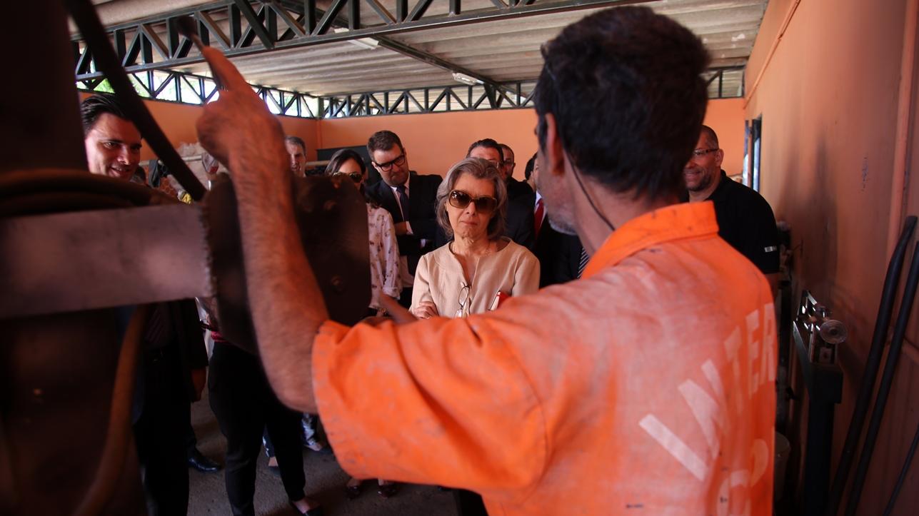 Ministra Cármen Lúcia vistoriou o complexo penitenciário da Papuda