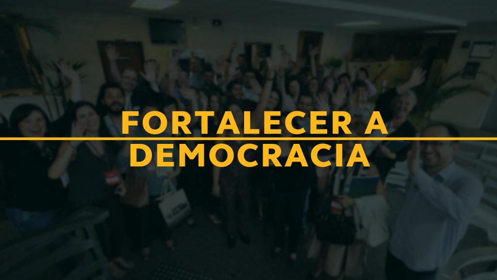 Bolsonaro age para desestabilizar a democracia