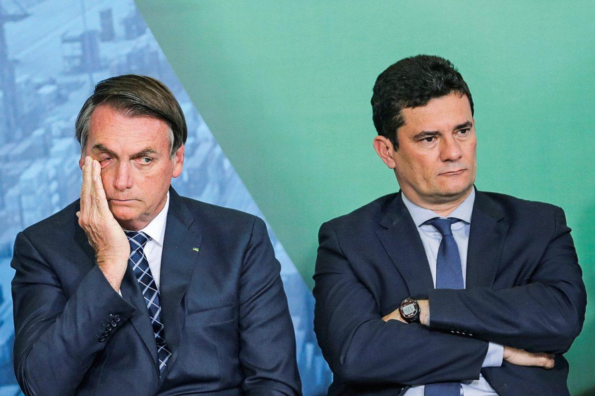 Moro cai, Bolsonaro se blinda