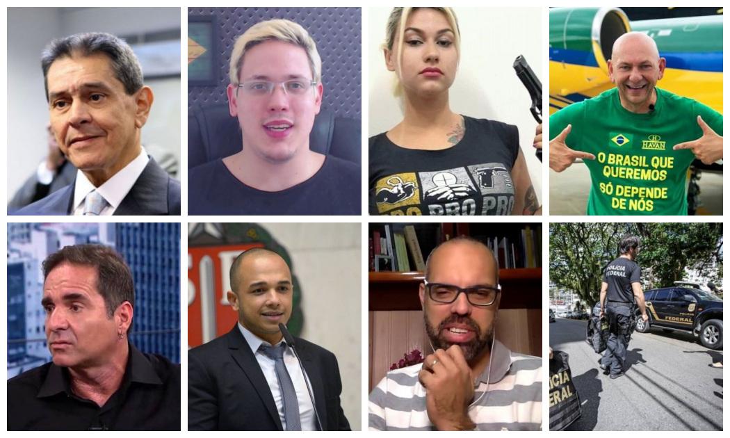 Fake News – Operação da PF mira bolsonaristas; STF autorizou ação em inquérito