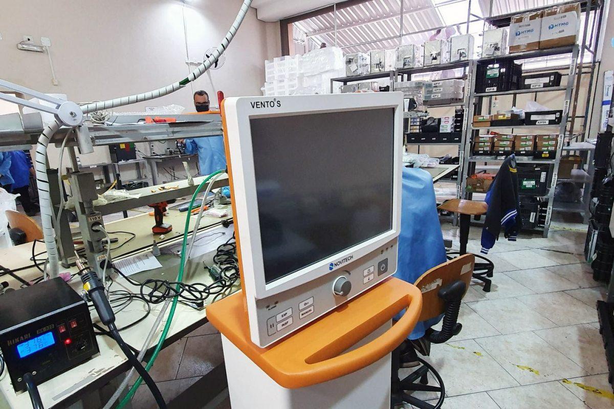 Indústria nacional aumenta produção de respiradores a partir de coordenação de SC
