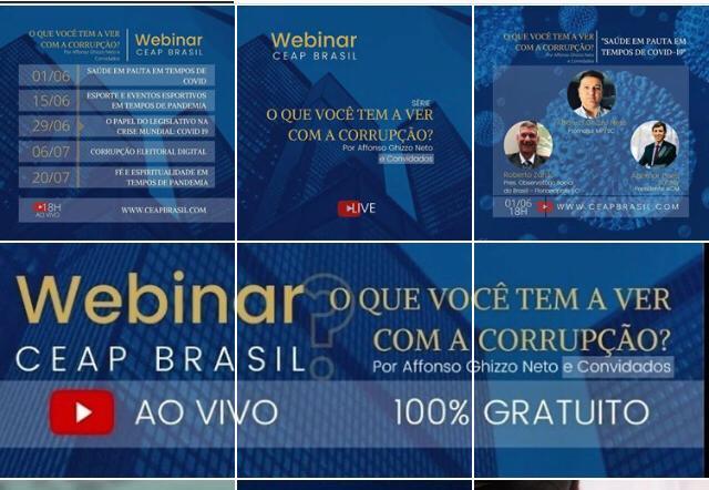 Debate sobre a corrupção no Brasil em tempos de Covid-19 é promovido pelo CEAP Brasil