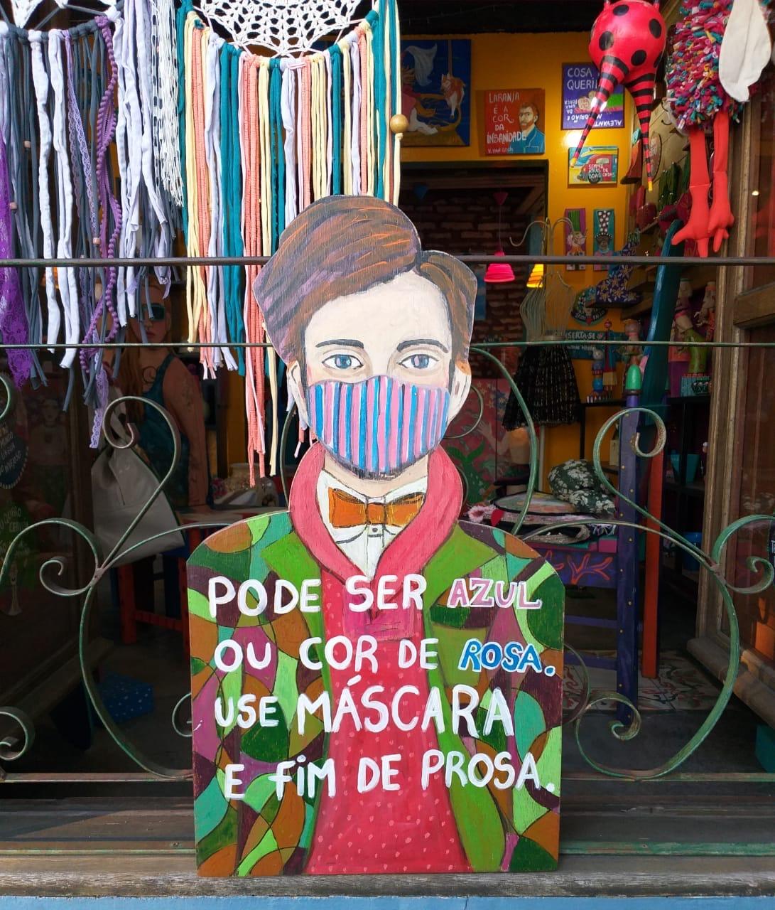 Arte é arma no enfrentamento à Covid-19 em Florianópolis (SC)