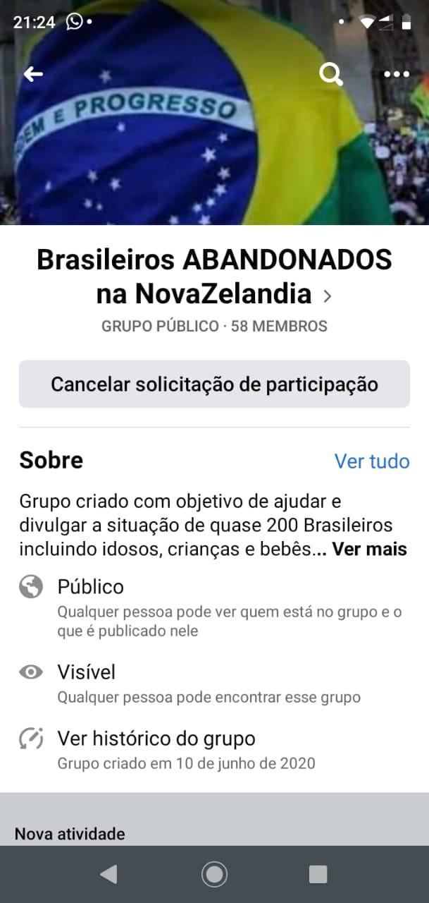 Exclusivo! Brasileiros se sentem abandonados na Nova Zelândia e pedem ajuda para retornar ao Brasil