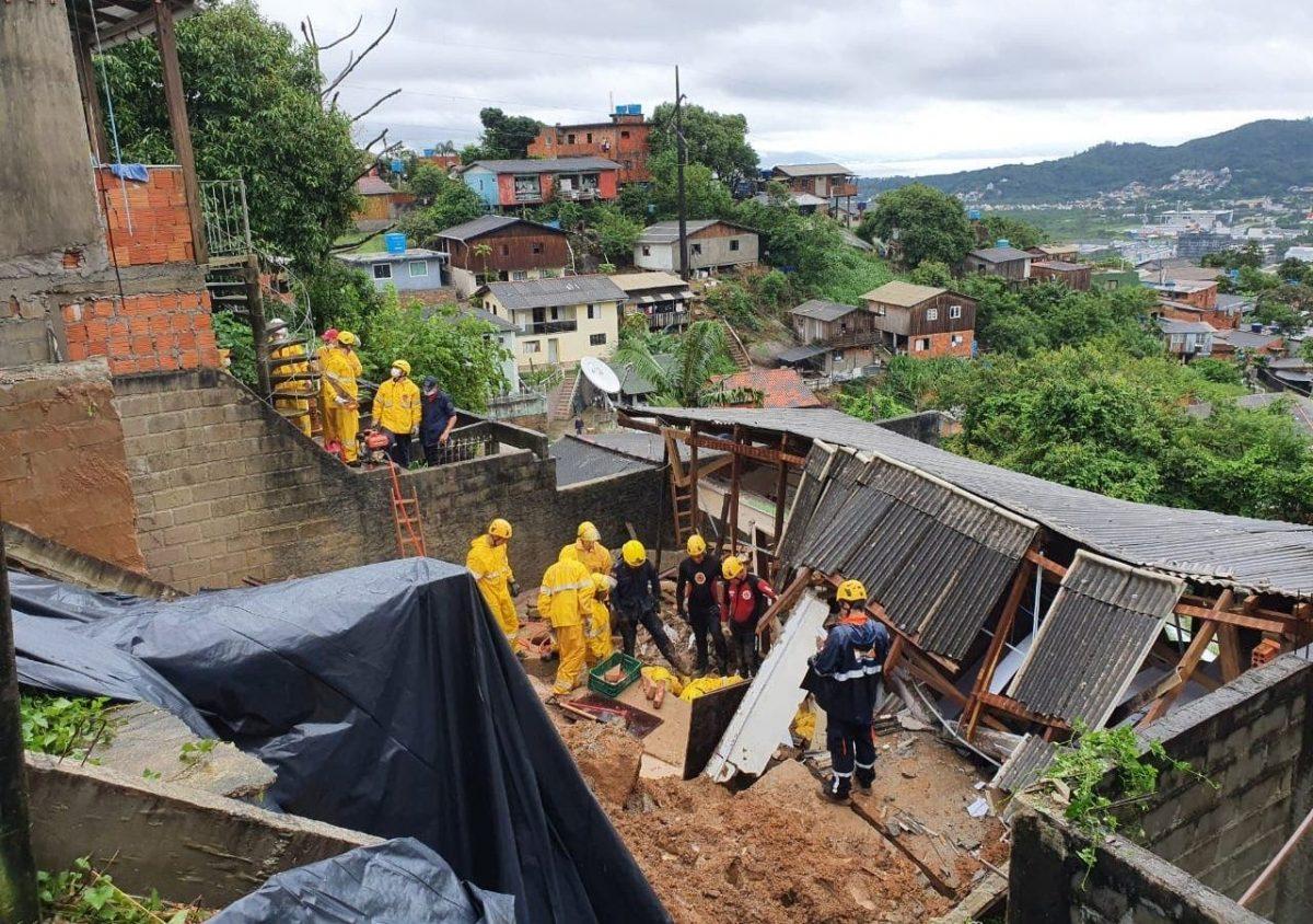 Deslizamentos em Floripa – Áreas de Risco na Capital são tragédias anunciadas