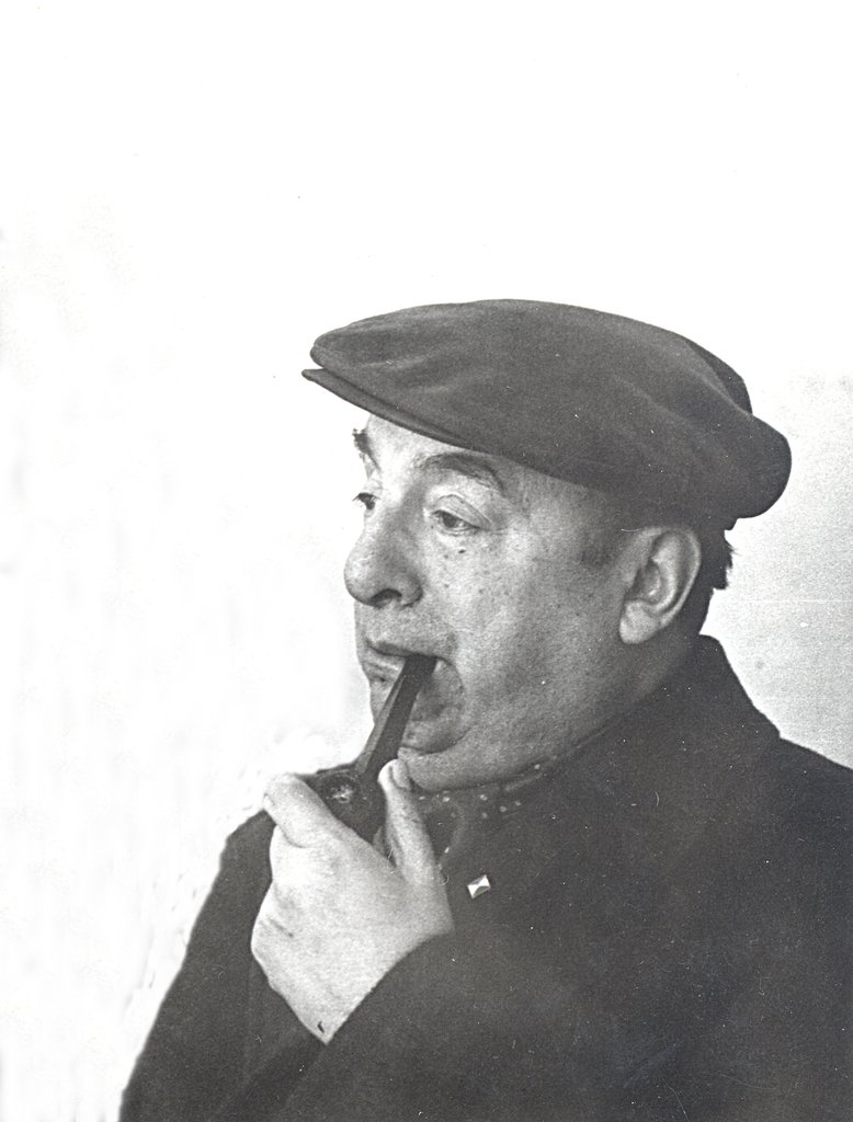 Pablo Neruda, grande poeta chileno e Nobel de Literatura