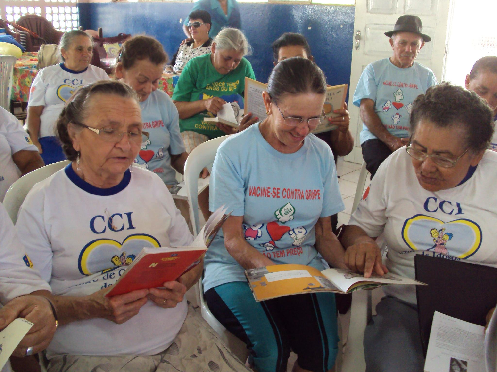 Centro de Convivência do Idoso participará da Feira do Livro de Joinville