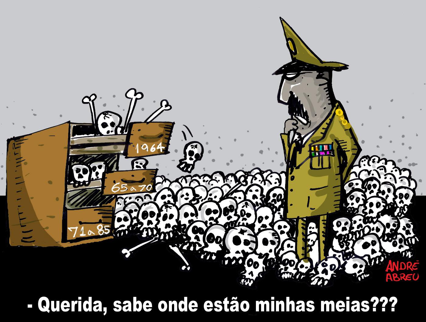 """""""Brilhante Ustra"""": """"Nunca ocultei cadáver"""", diz coronel à Comissão da Verdade"""