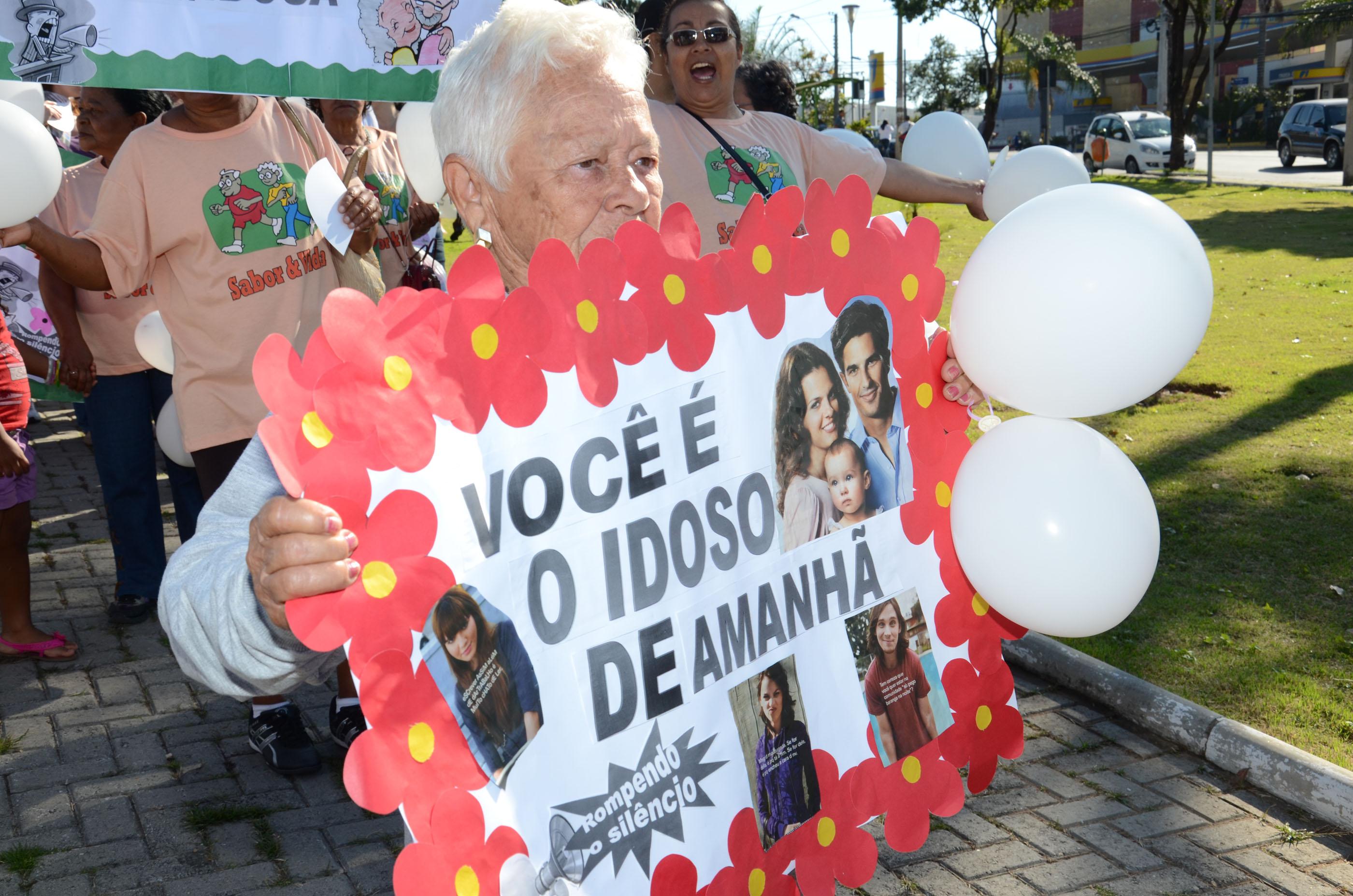 Idosos: Caminhada de conscientização contra a violência acontece nesta sexta (14/6)