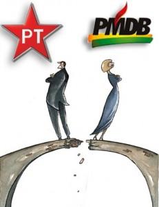 Aliança PT/PMDB está por um fio