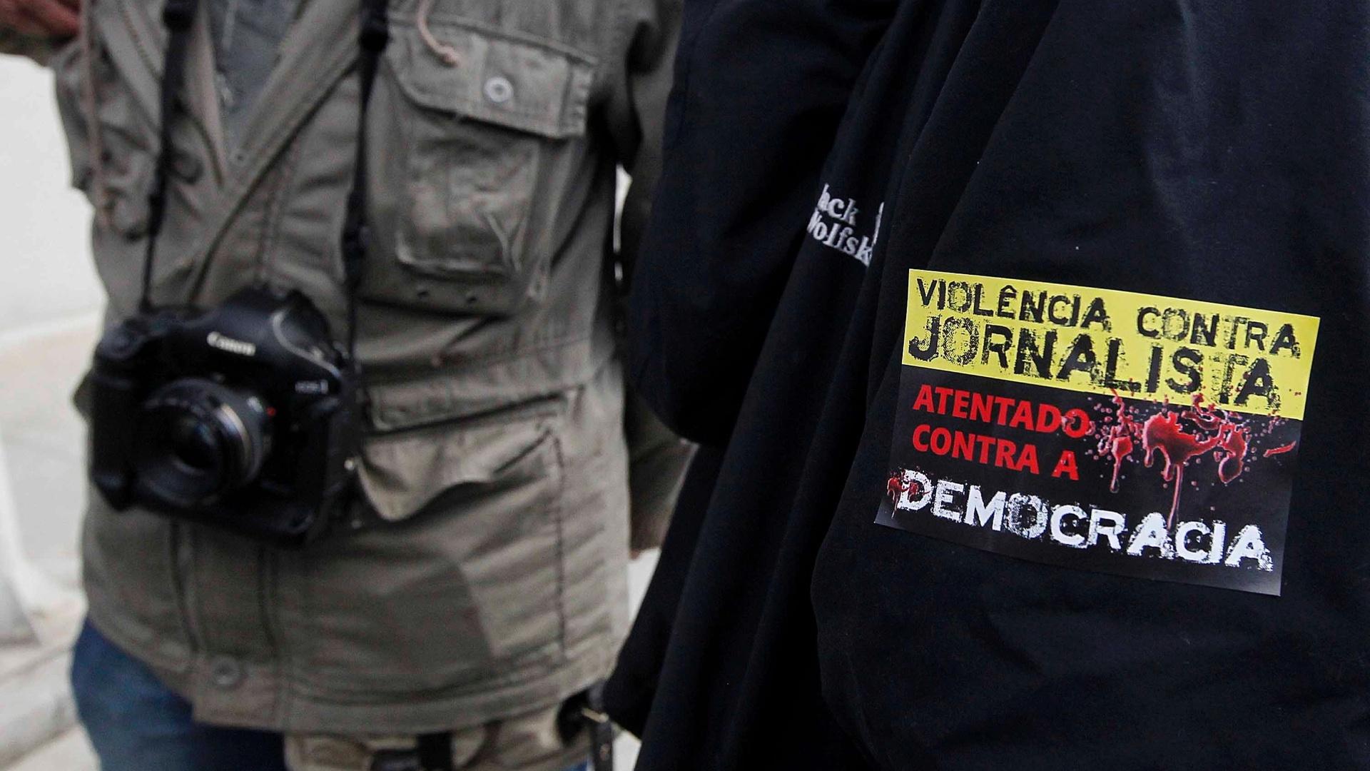 Abraji denuncia 19 agressões a jornalistas em manifestação contra a Copa