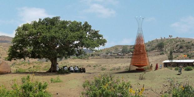 Torre que transforma umidade do ar em água potável tem versão melhorada