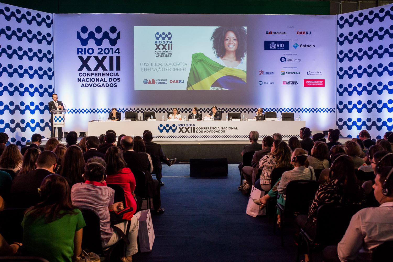OAB reforça compromisso com a democracia brasileira na XXII Conferência Nacional da Advocacia