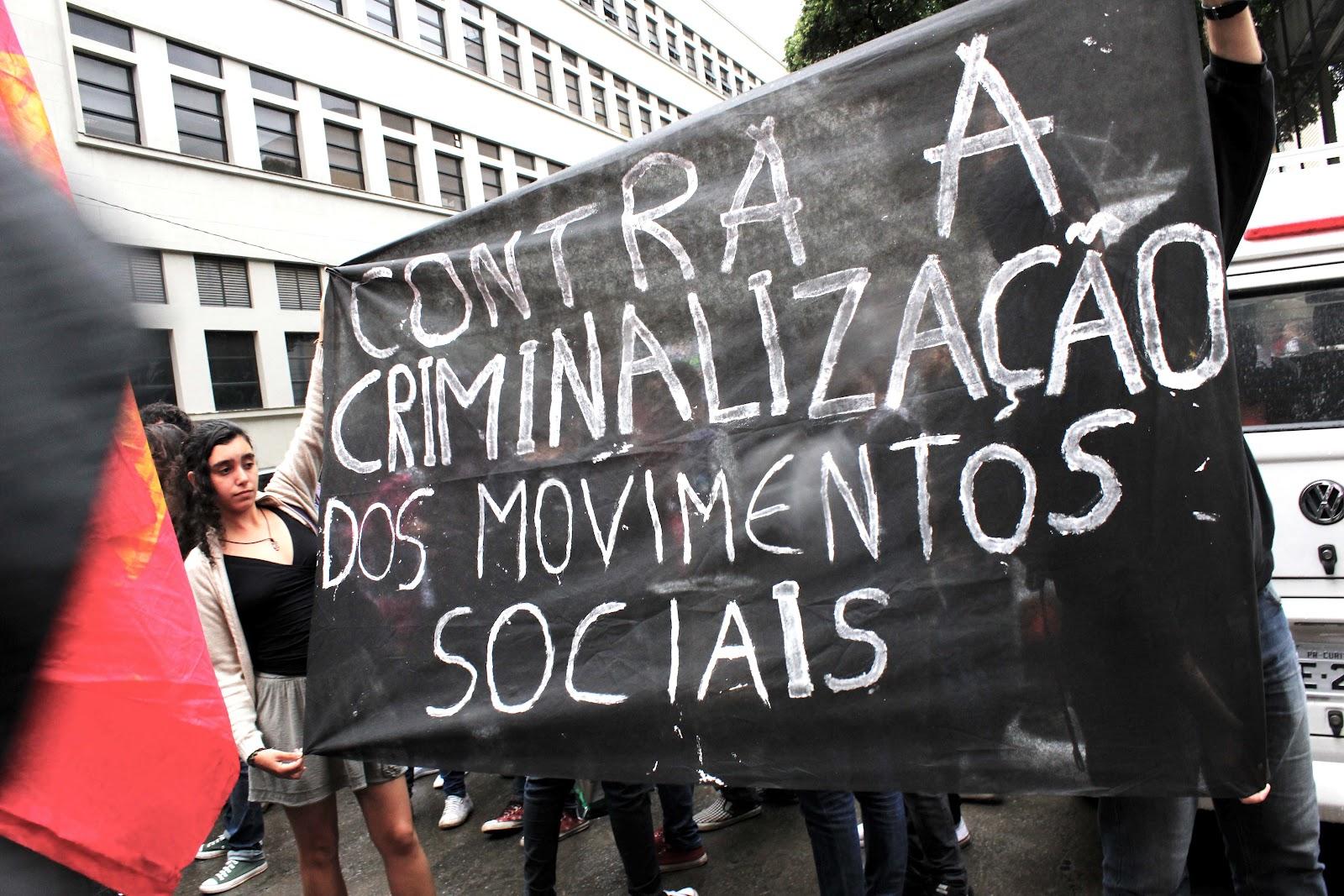Conselho cria comissão contra a criminalização dos Movimentos Sociais
