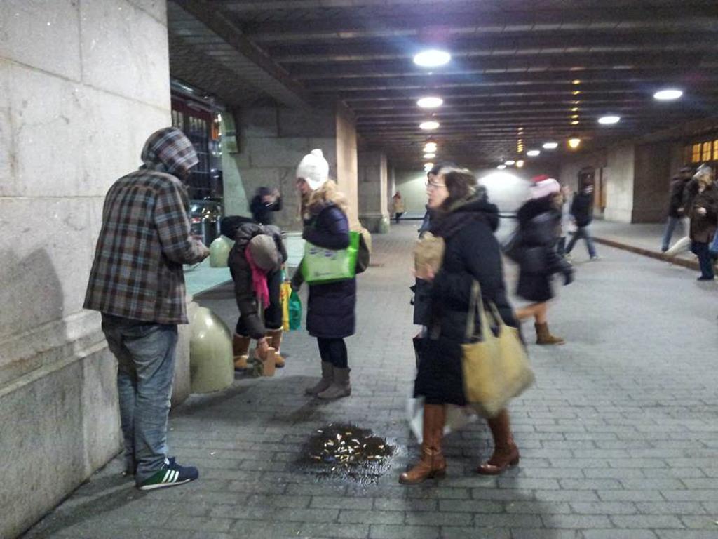 Número de pessoas sem teto em Nova York chega a 60 mil